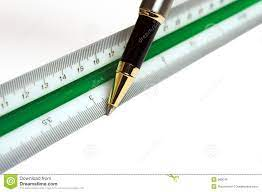 Fine liners ruler